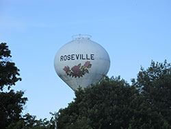 Roseville Watertower